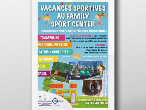 Affiche Corsica Sports Loisirs