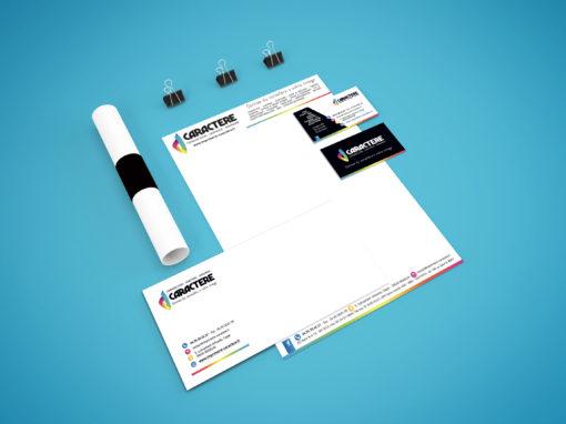 Branding Imprimerie Caractère