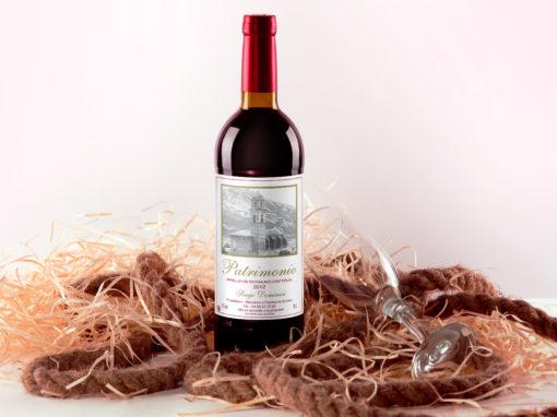 Etiquette de vin Patrimonio